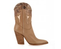 Botine Dama Love BROWN