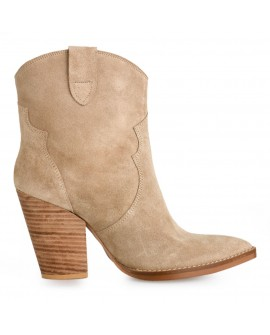Botine Dama Attya Brown