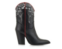 Botine Dama Love Black