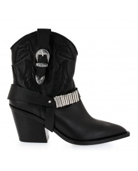 Botine Dama Redly Black