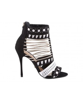 Sandale Dama Black/White